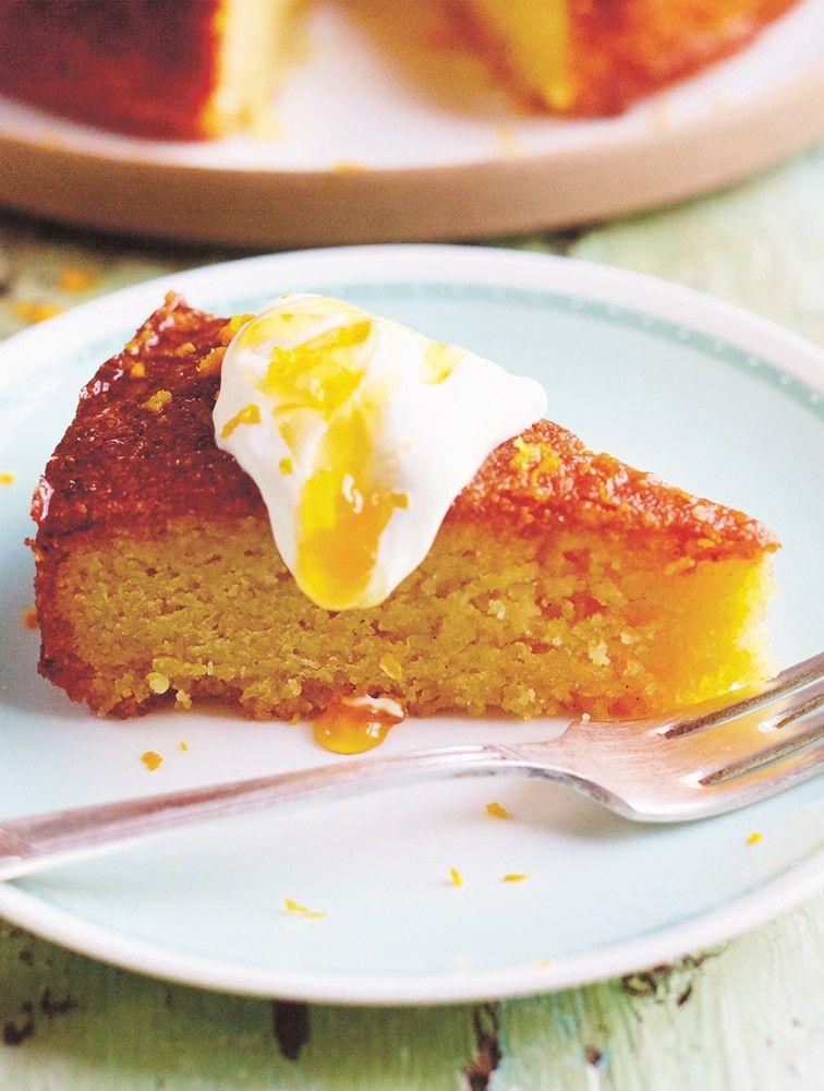 Jamie's Orange & Polenta Cake