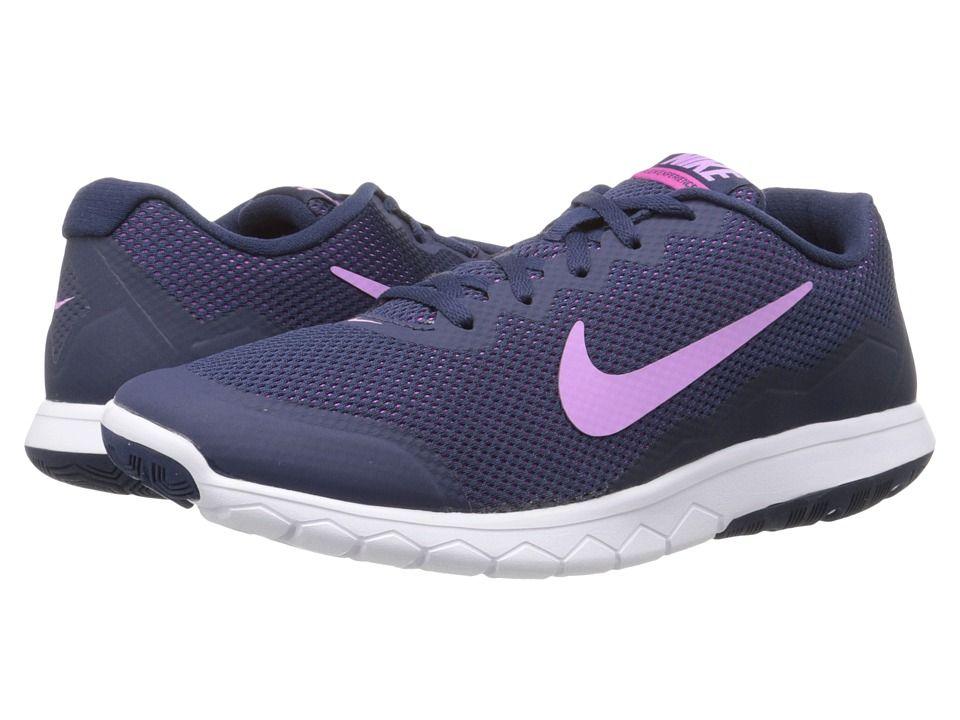 Womens Shoes Nike Flex Experience Run 4 Midnight Navy/Obsidian/Fuchsia Flash/Fuchsia Glow