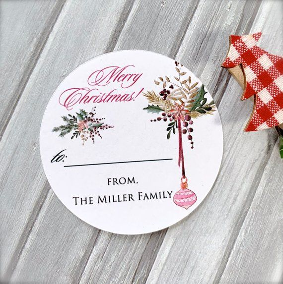stickers for gifts merry christmas labels gift wrapping christmas