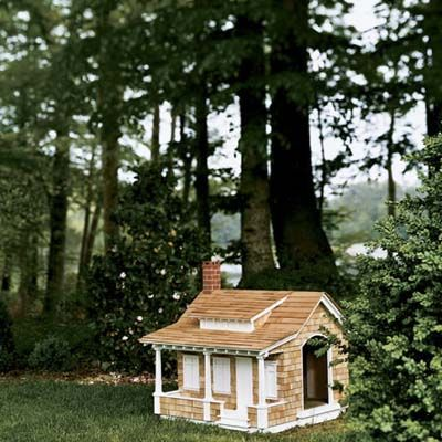 A Craftsman Style Doghouse A Bungalow In Miniature Complete With