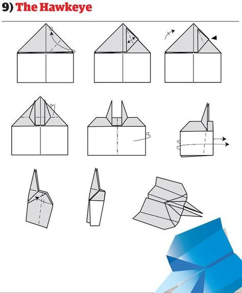 12 Ways To Make The Best Paper Airplanes