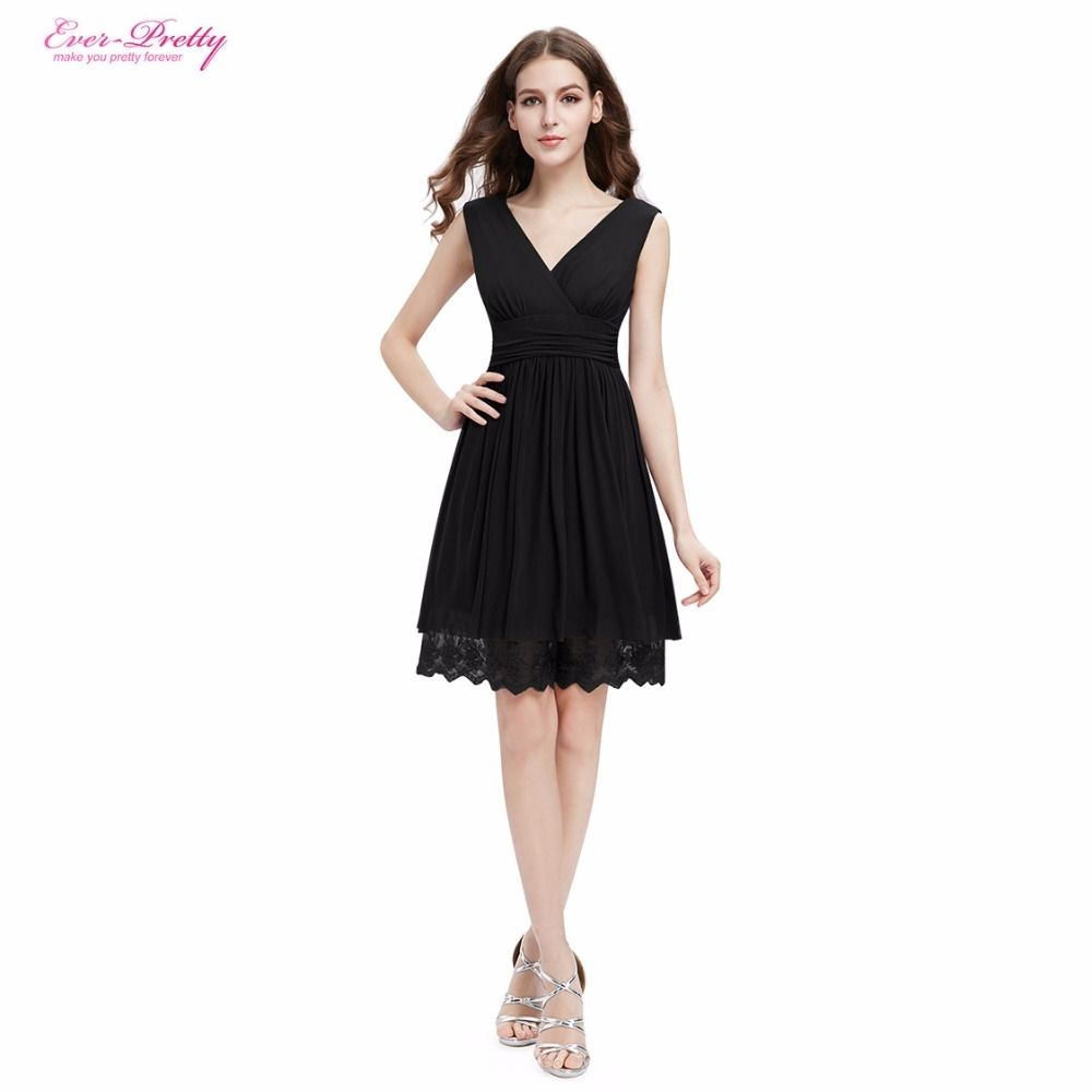Cocktail Dresses Ever Pretty 00279 2017 Blue Black Purple hort Lace ...