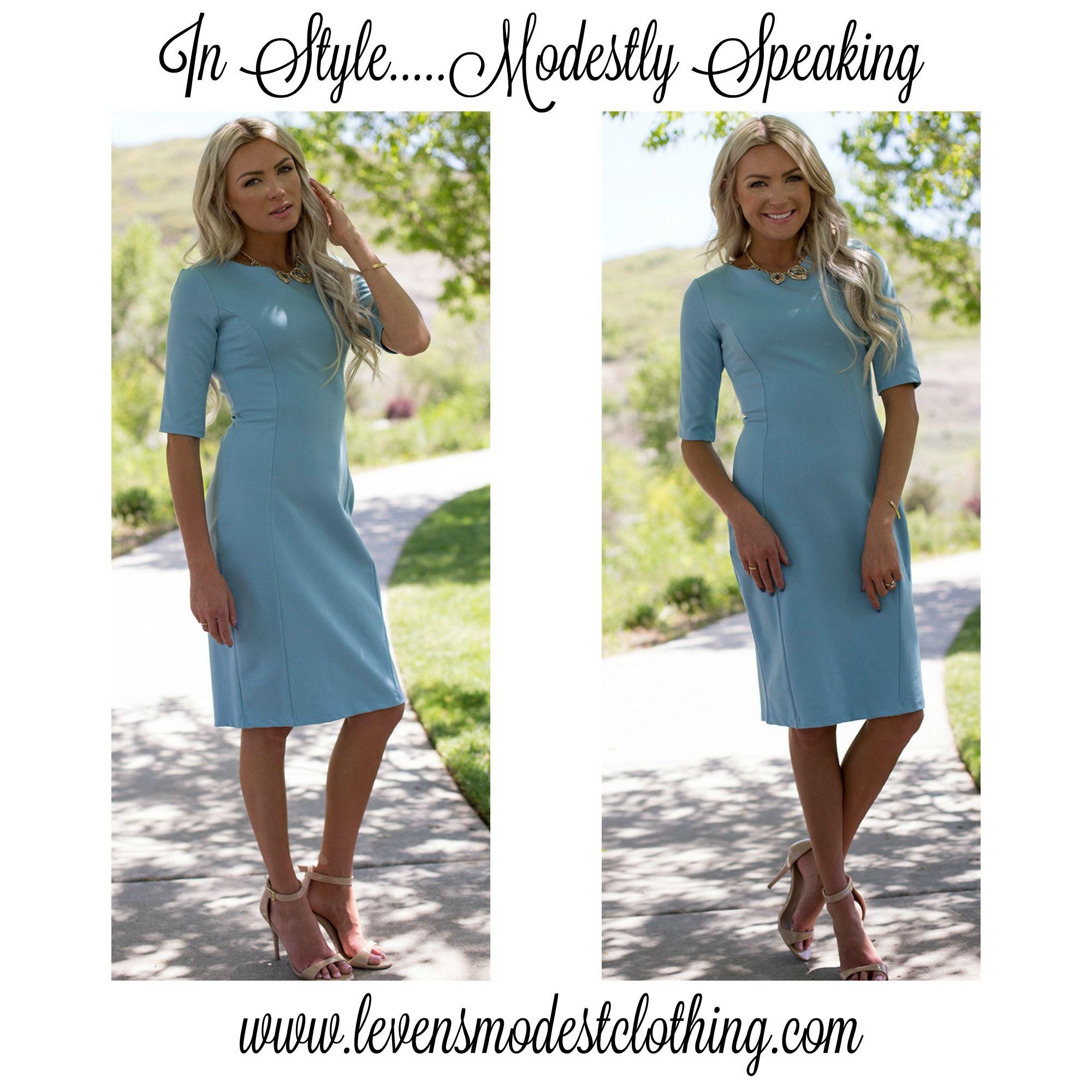Modest Dresses in Utah