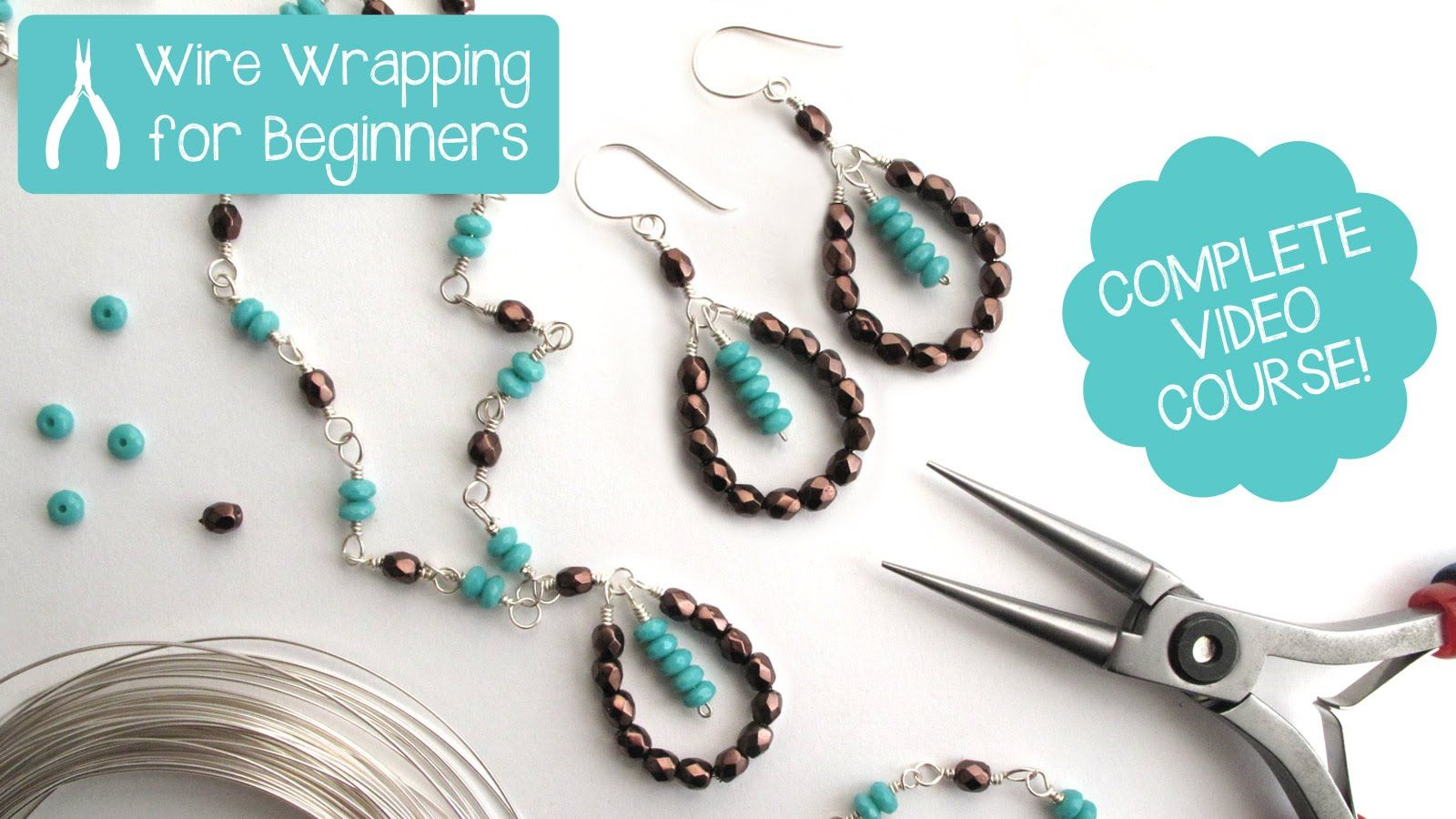 Jewelry Making: Wire Wrapping for Beginners - Complete Video Course ...