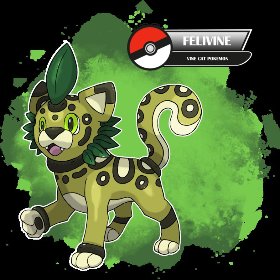 002 Felivine by TheStormUnleashed   pokemon art   Pinterest 1a1dd25dd231