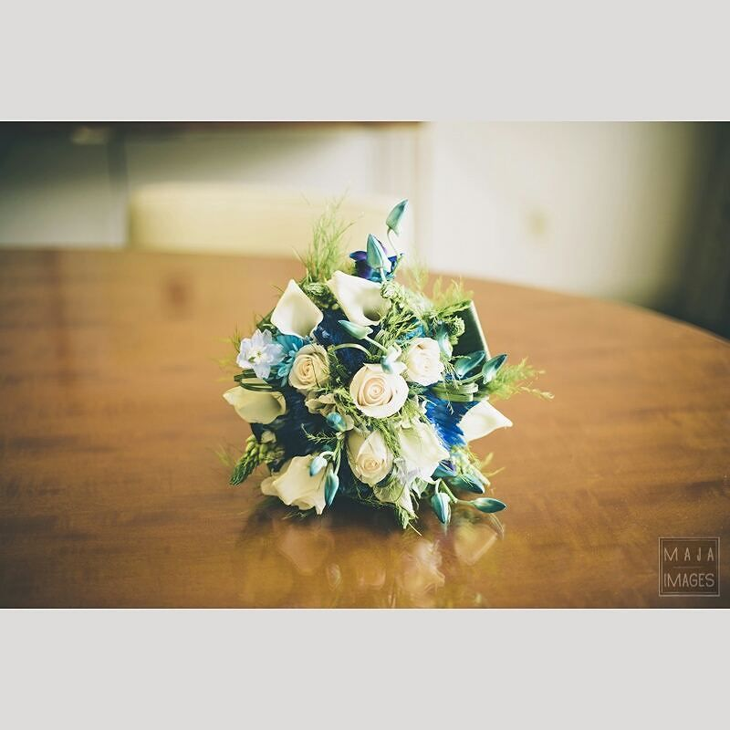 Fabulous Vancouver Wedding #wedding #flowers #blue