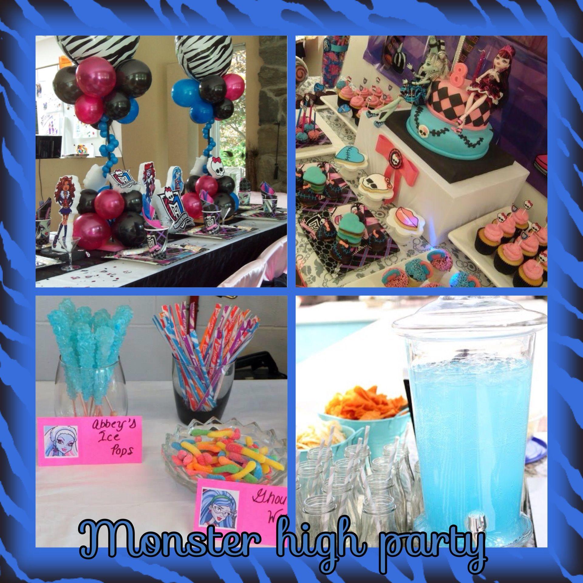Monster High Cake Pops Site Pinterest Com