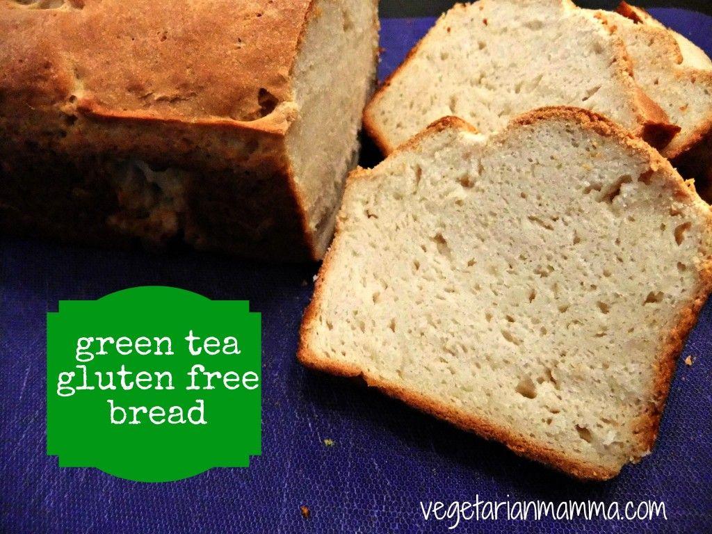 Green Tea Bread Glutenfree Gluten Free Recipes Bread Gluten Free Bread Gluten Free Vegan Bread
