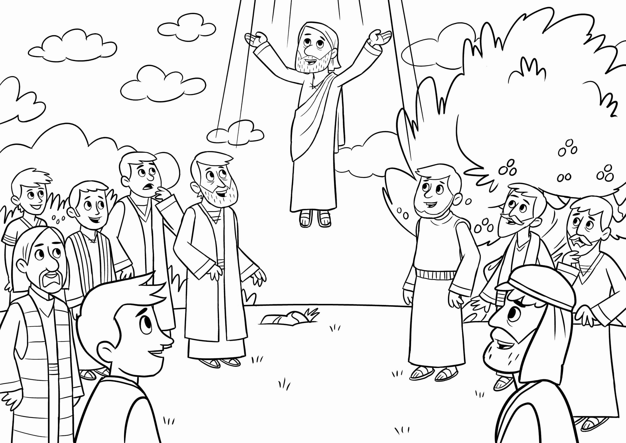 32 Paul S Second Missionary Journey Coloring Page In