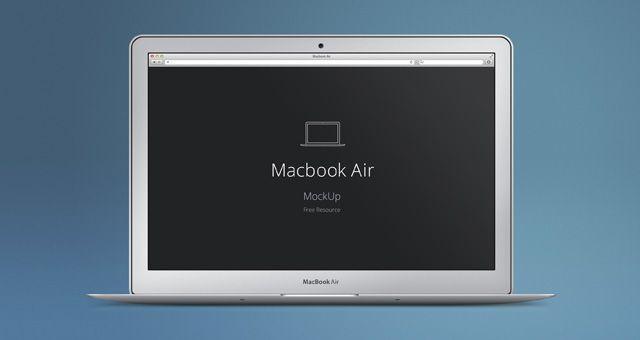Macbook Air Psd Mockup Psd Mock Up Templates Pixeden Mockup Free Psd Photoshop Freebies Mockup