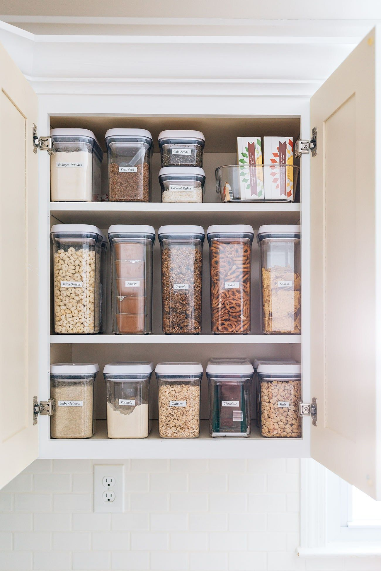 Built In Pantry Shelves