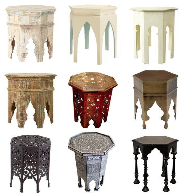 nachtischk stchen wohnen pinterest marokko orientalisch und marokkanischer stil. Black Bedroom Furniture Sets. Home Design Ideas
