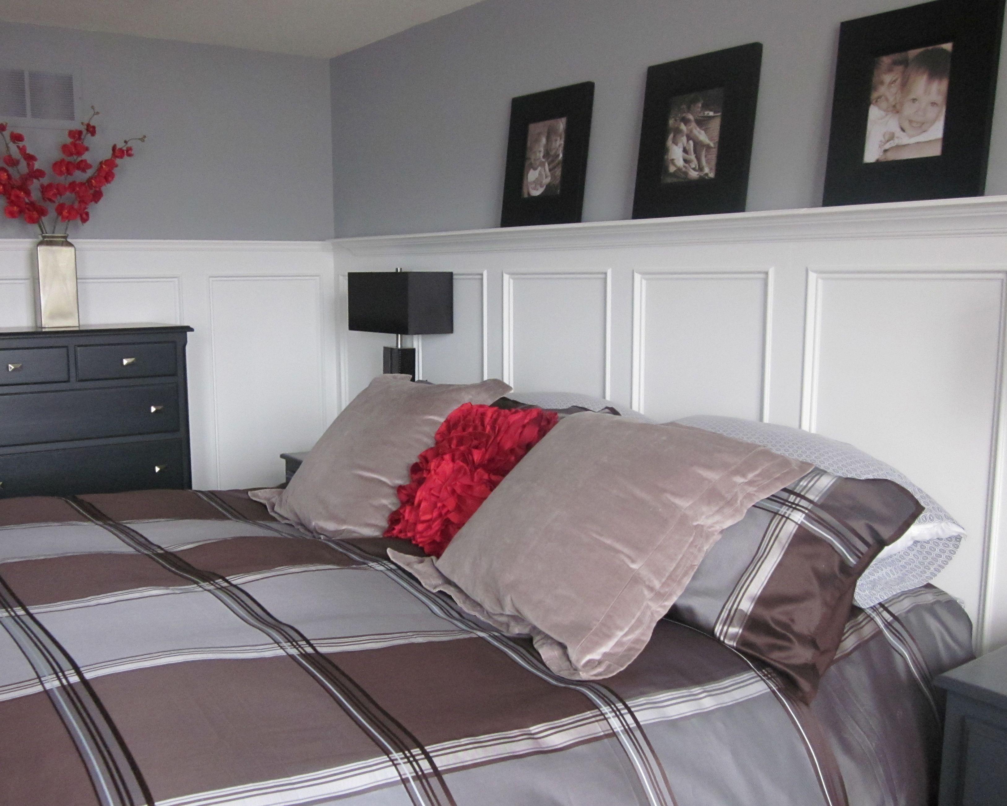 Wainscoting master bedroom - Hmmm Wainscoting In The Master Bedroom Interesting