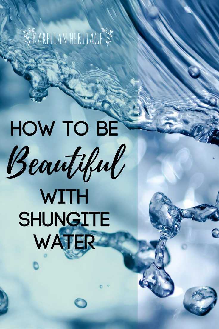 3 BEAUTY LIFE HACKS WITH SHUNGITE WATER Use it for DAILY