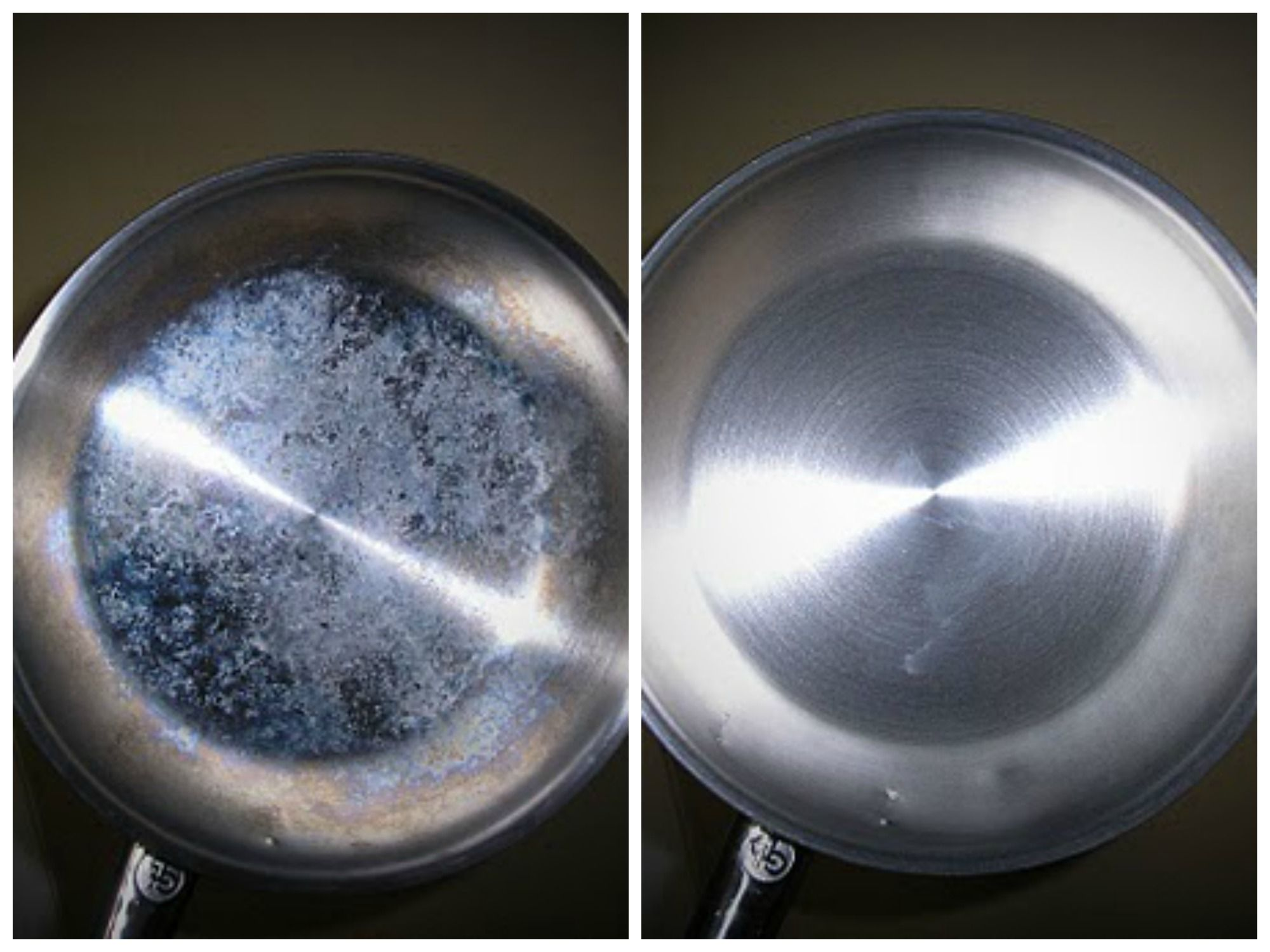 7 Super Smart Homemade Diy Cleaning Recipes Using Vinegar That You Have To Try Homemade Stainless Steel Cleaner Stainless Steel Cleaning Stainless Steel Pans