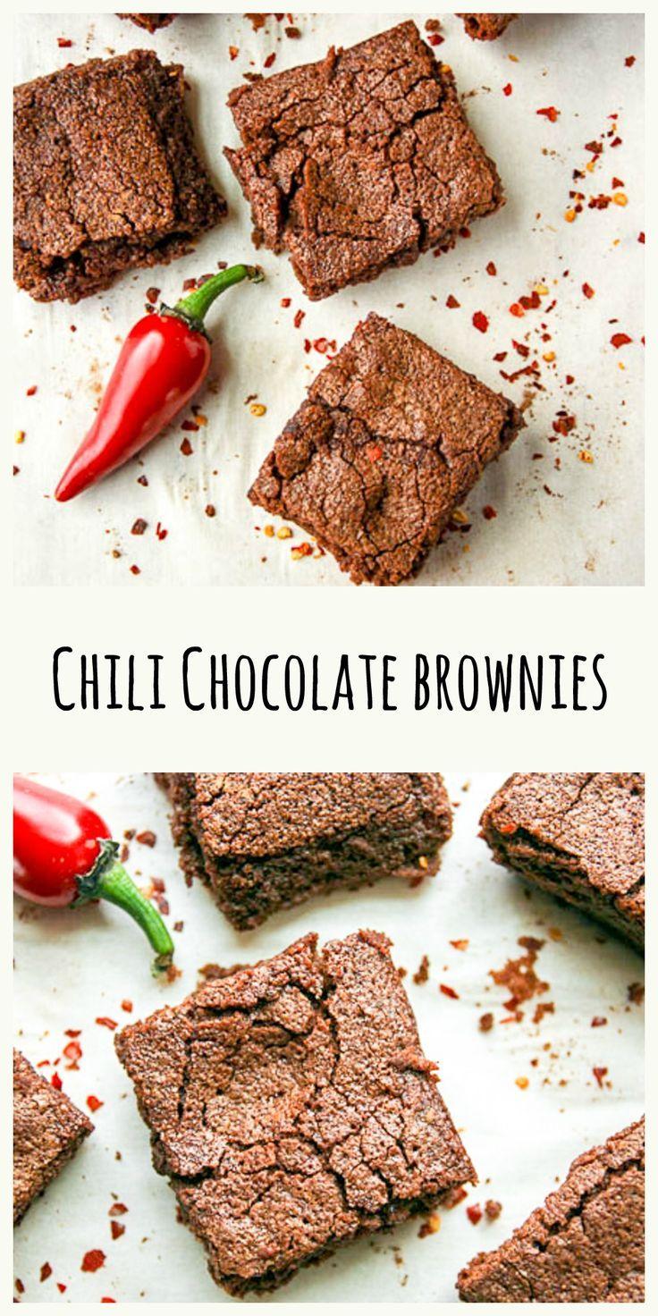 Chili Chocolate Brownies – Spicy Chocolate Brownies Chili Chocolate Brownies are fudgy, chocolate