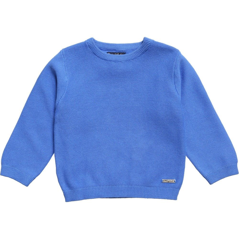 Mayoral Baby Boys Blue Knitted Sweater at Childrensalon.com | My ...