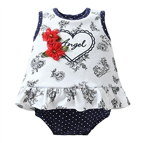 4baae590ce0f Momsbabe Baby Girl Romper Dress Floral Print Ruffles Newborn Infant Cute  Jumpsuit Tag a friend who