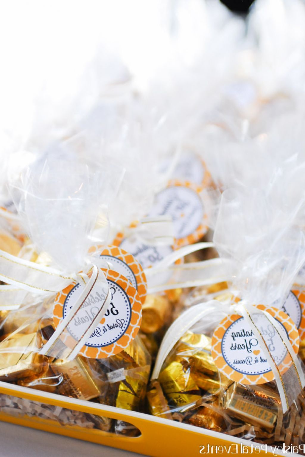 50th Wedding Anniversary Party Favors | Anniversary party | Pinterest