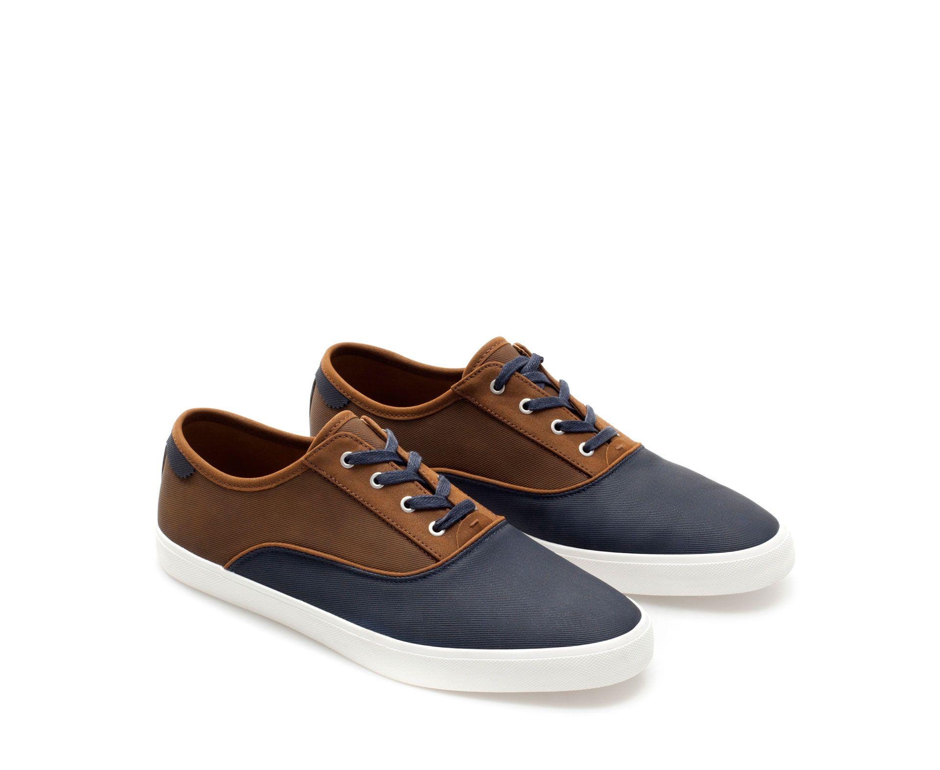COMBINATION PLIMSOLL - Shoes - Man | ZARA Mexico