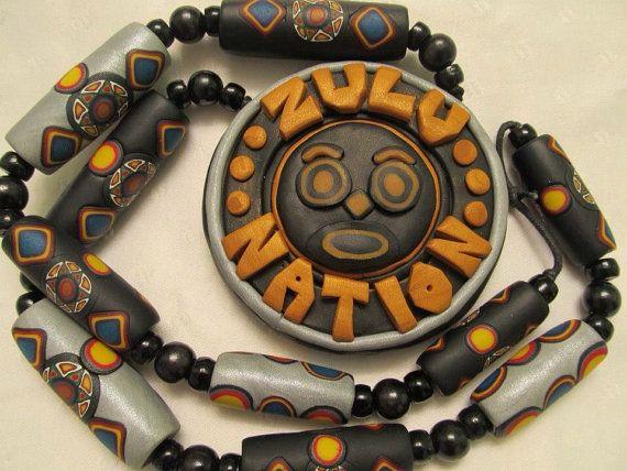 Zulu Nation official wisdom Face pendants , NYC HIPHOP ORIGINAL