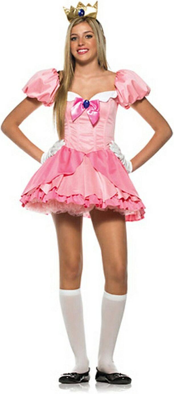 Teen princess peach costume