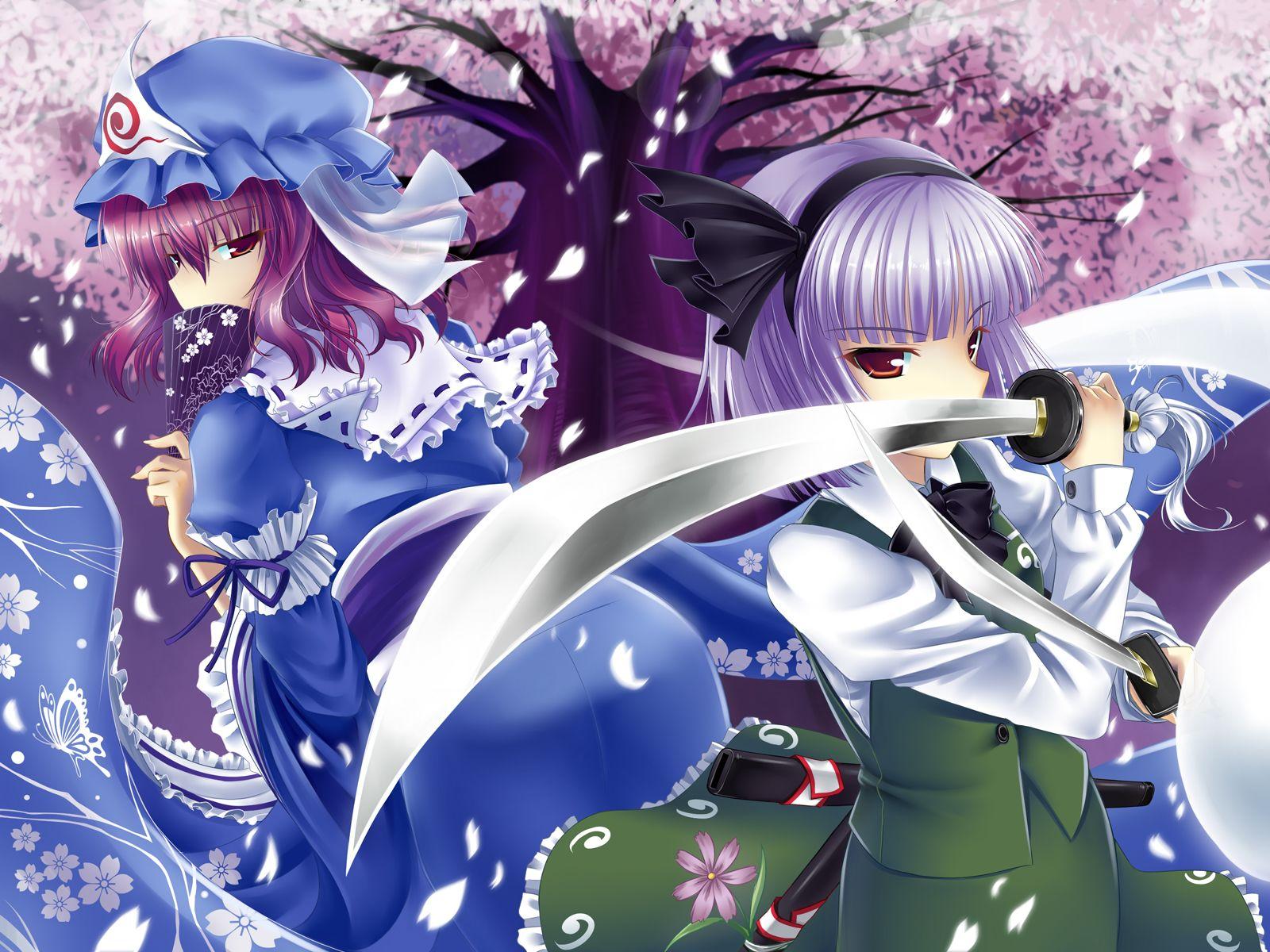 youmu and yuyuko | touhou | pinterest