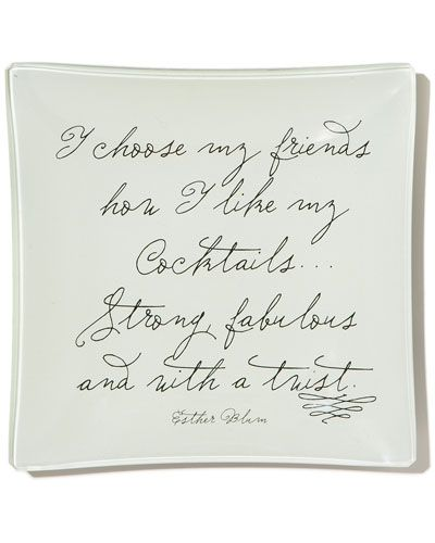 """Famous Quotes With A Twist: """"I Choose My Friends How I Like My Cocktails ... Strong"""