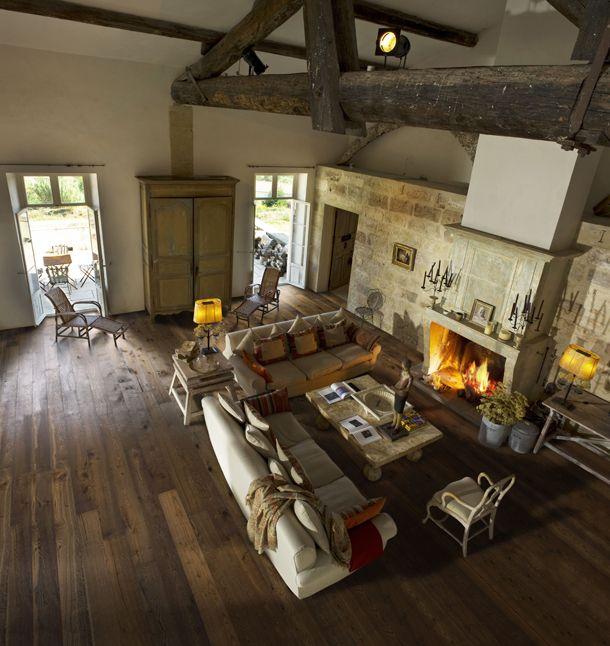 offener kamin im wohnzimmer wohnen. Black Bedroom Furniture Sets. Home Design Ideas