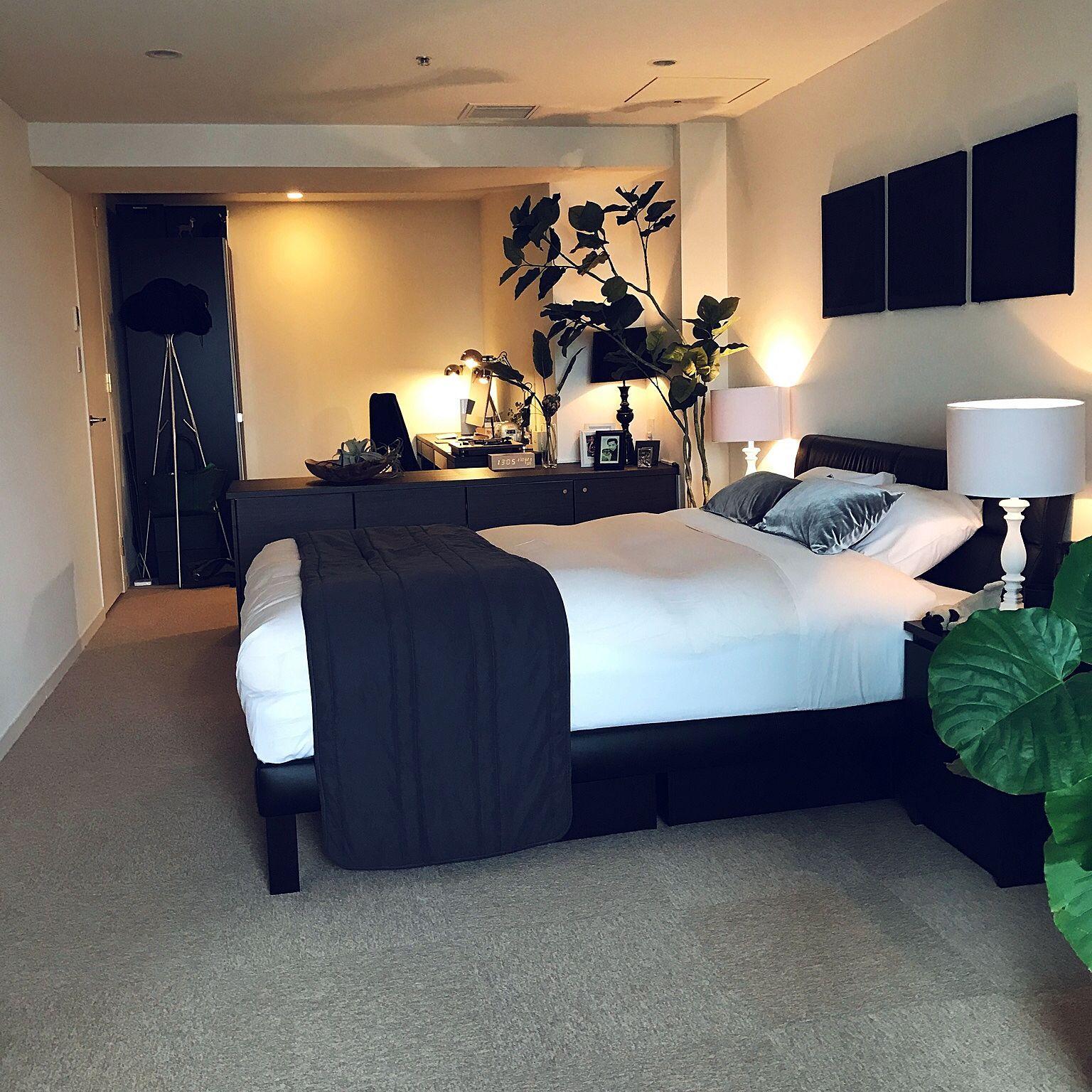 ベッド周り/LIVING HOUSE/IKEA/ホテルライク/ZARA HOME...などの ...