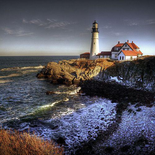 Portland Head Lighthouse Cape Elizabeth, Maine US 43