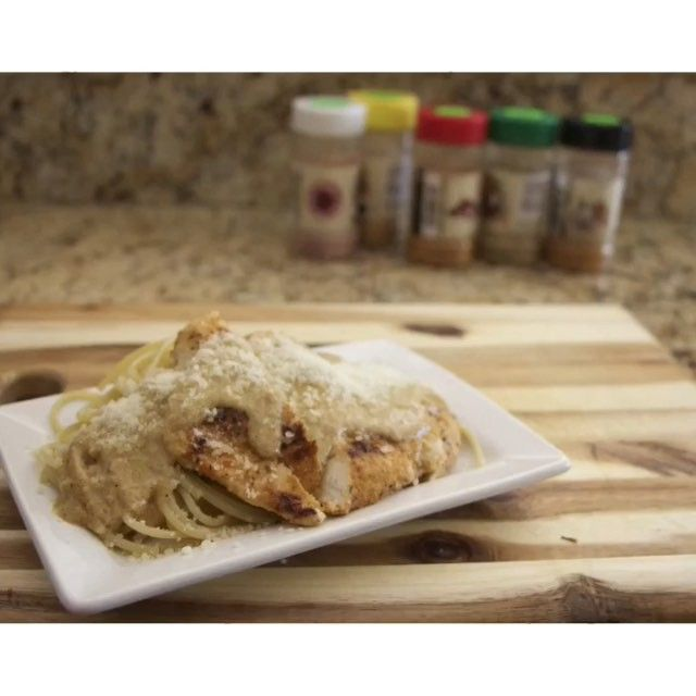 @flavorgod Lemon Garlic Chicken Pasta