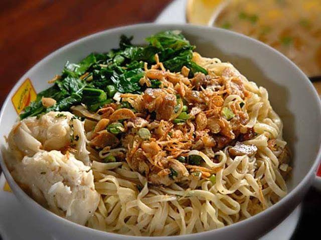 Resep Cara Membuat Mie Ayam Pangsit Khas Jakarta Valkinz Blog Makan Malam Pangsit Makanan Pesta