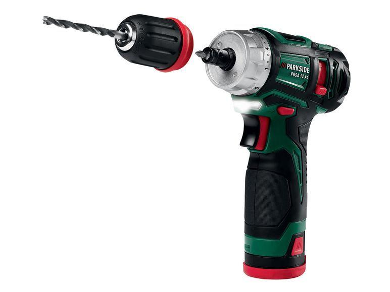 Parkside akku bohrschrauber pbsa 12 a1 1 power tools for Trapano avvitatore parkside 20v recensioni