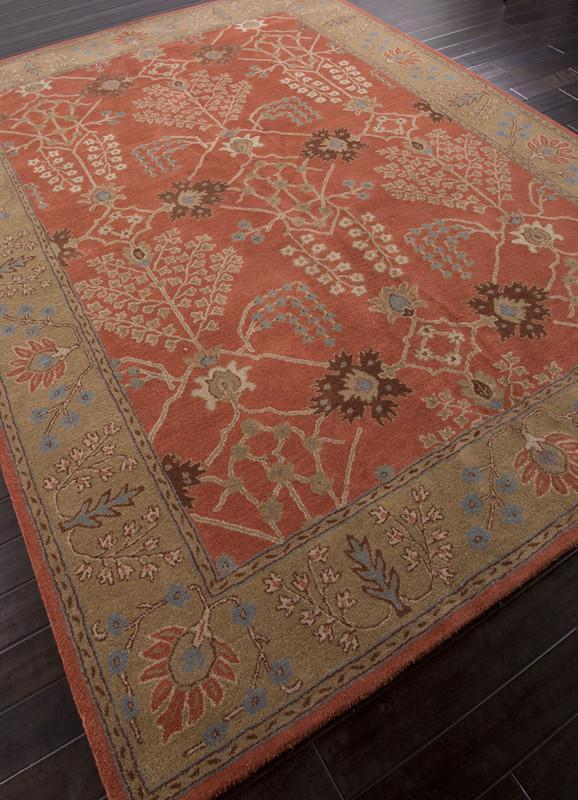 Jaipur Rugs Rug103483 Hand Tufted Arts And Craft Pattern