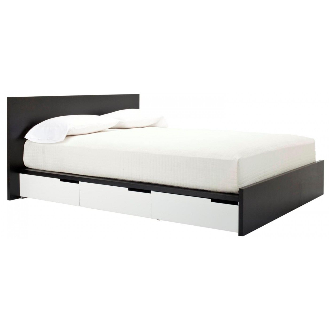 Queen storage bed oak white iud live with that pinterest
