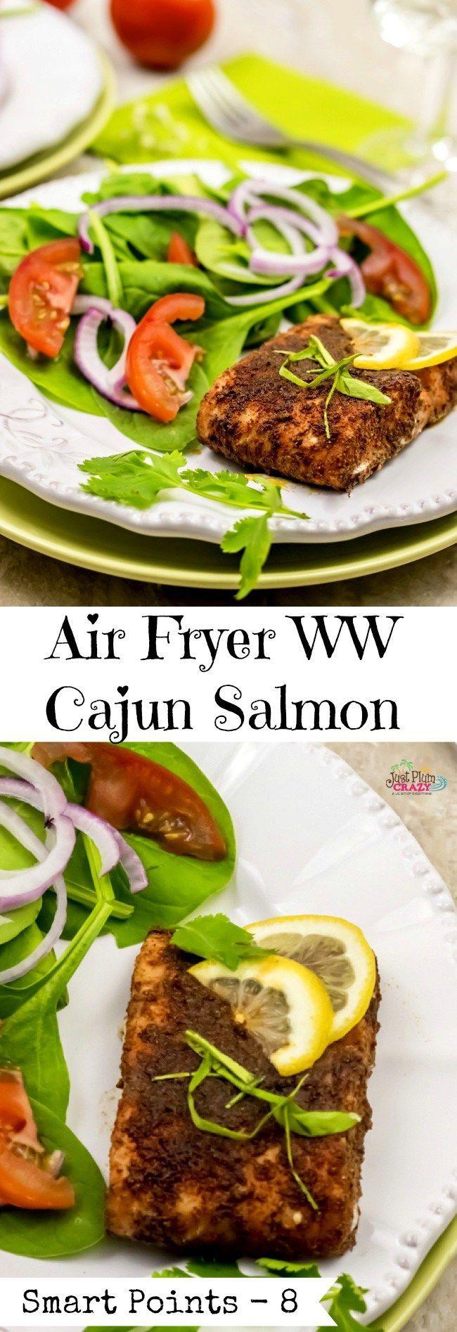 Air Fryer Salmon Cajun Style Recipe Salmon Recipes