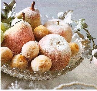 sugared holiday fruit