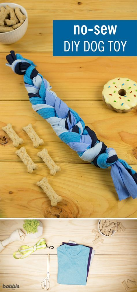 These No Sew Diy Dog Toys Are Sure To Make A Puppy S Day And