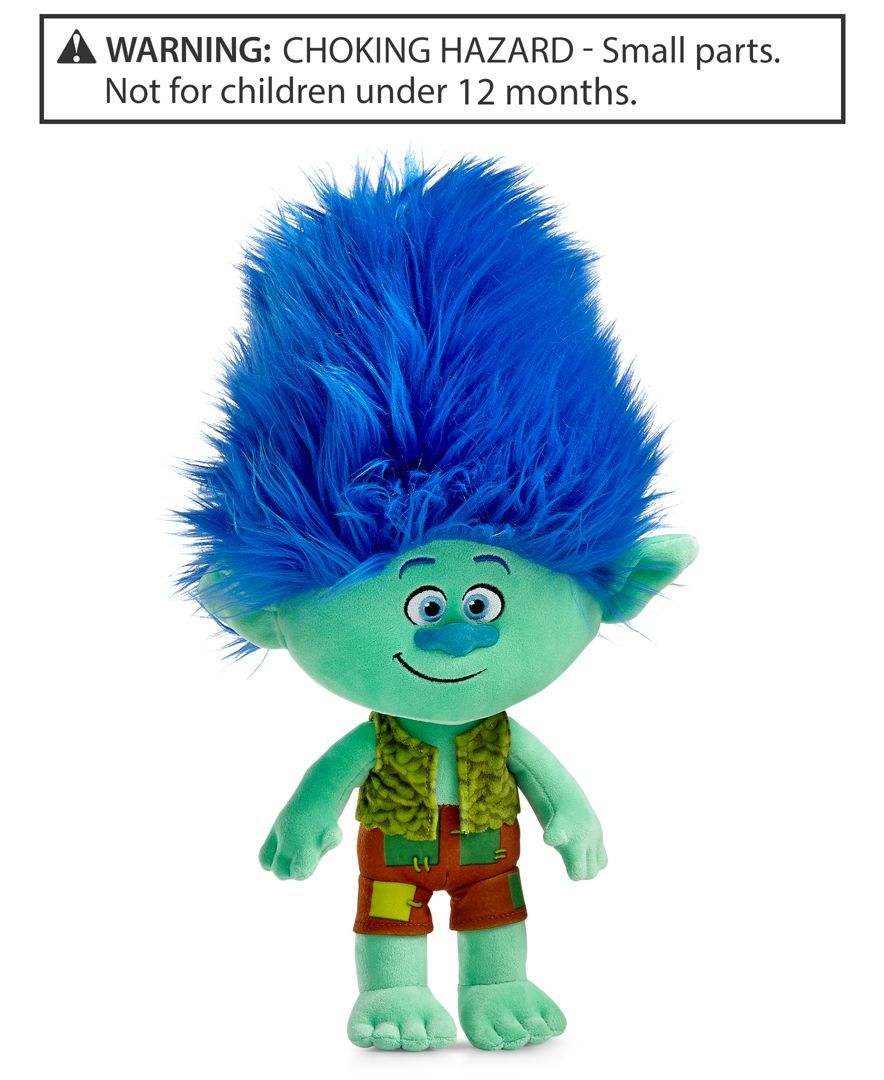 Branch Plush Troll By Dreamworks Only At Macy S