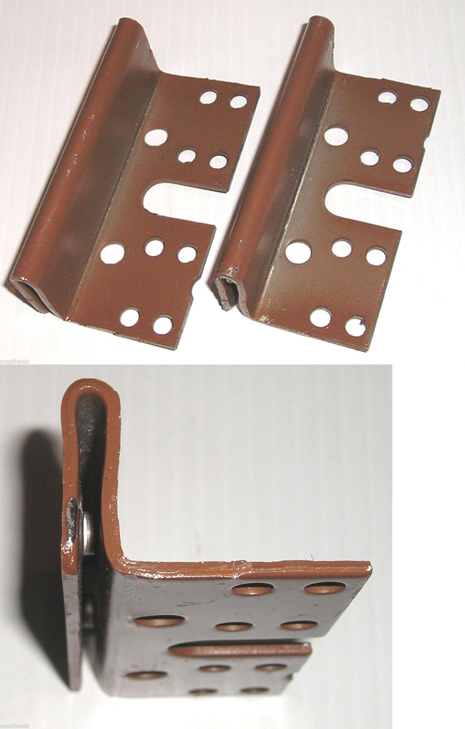 Bed Post Bracket (2 Pack) For 2 Hook Slot Bed Rail Plates