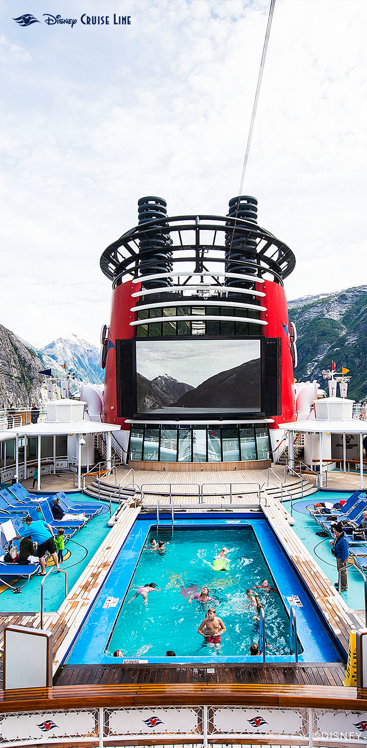 Goofy's Pool, A Family Pool Located At Deck 9, Midship