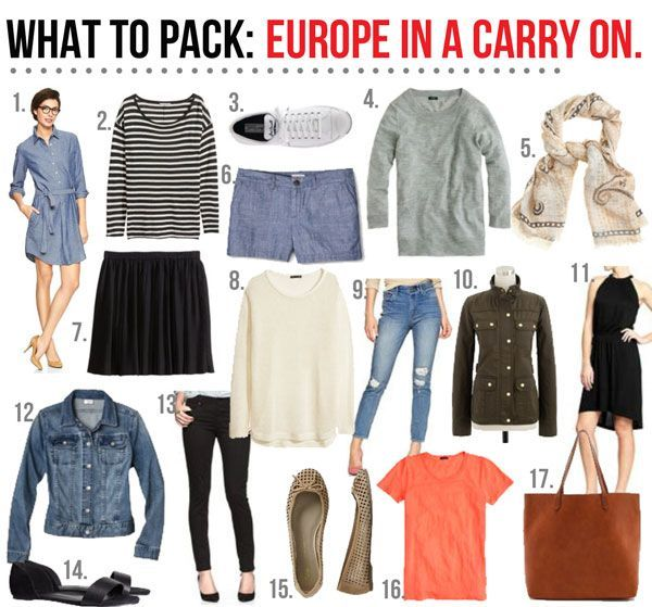 What to pack europe in a carry on the good life for for Best way to pack shirts