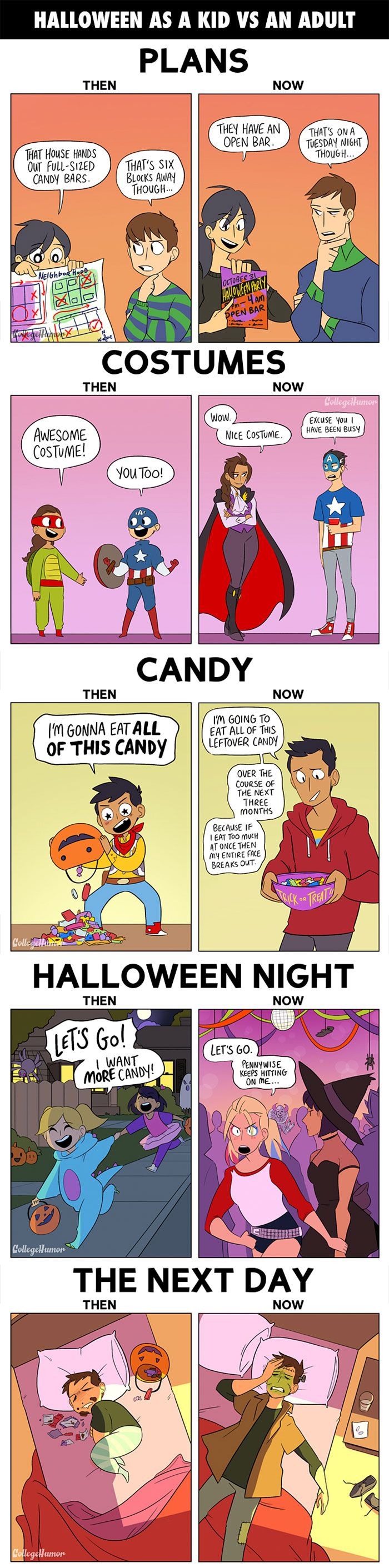 95 Funny Halloween Comics To Celebrate This Day With