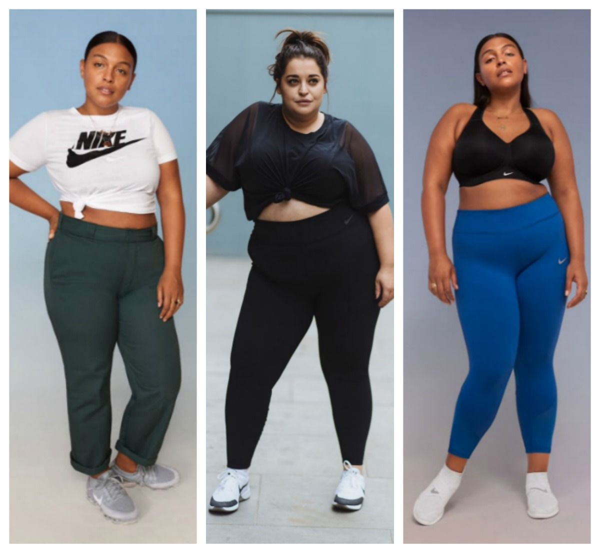 97e5a6c543 Nike Just Launched Their First Plus Size Activewear Campaign