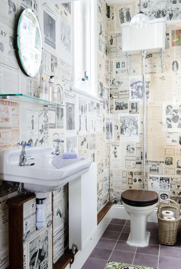 gäste wc deko tapete - Google-Suche | Gäste-WC | Pinterest | Searching