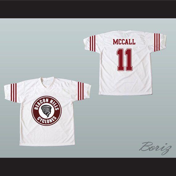 ff728028e2c3 Scott McCall 11 Beacon Hills Cyclones Lacrosse Jersey Teen Wolf TV Series  New