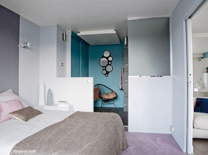 Petite Chambre Salle De Bains Idee Deco Chambre Parentale