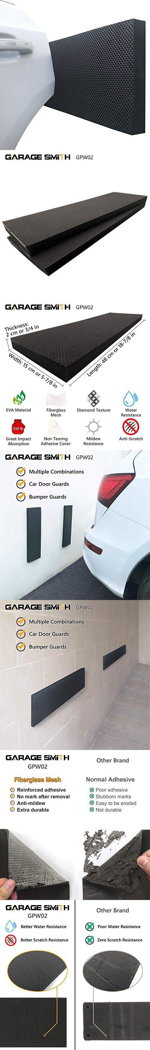 GARAGE SMITH GARAGE WALL PROTECTOR CAR DOOR PROTECTORS