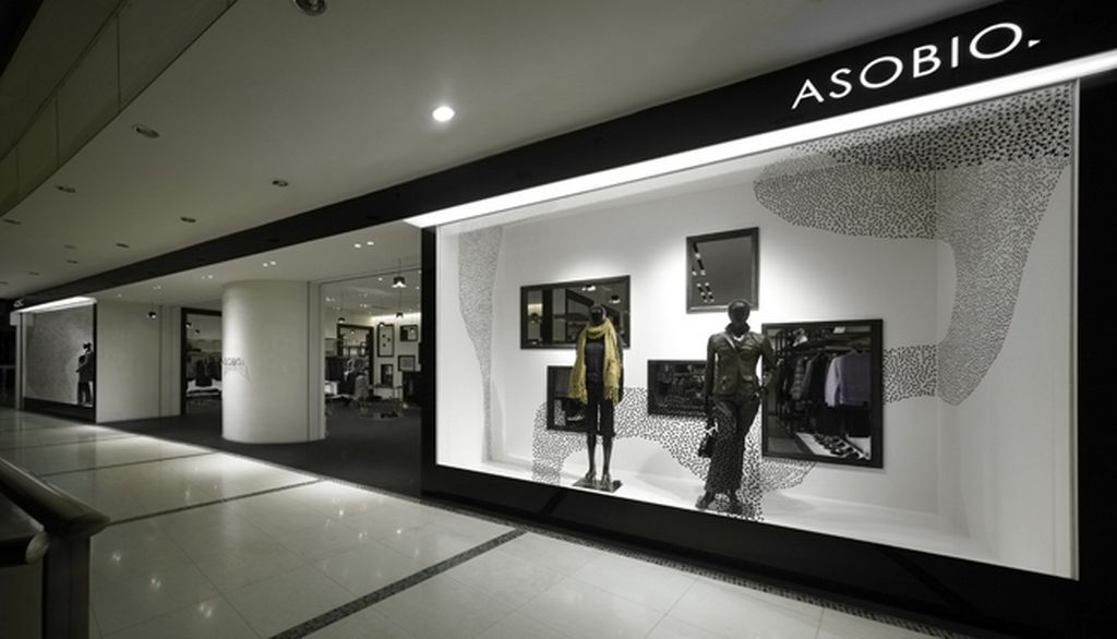 Asobio Fashion Shop Interior Design 2 1024x